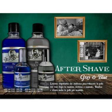 OLD BARBERS AFTER SHAVE Spray Lozione Dopobarba Professionale Idrata e Tonifica il Viso 120ml