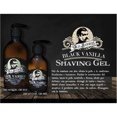 OLD BARBERS SHAVING Gel Aloe PROFESSIONALE 200 ML E 500 ML