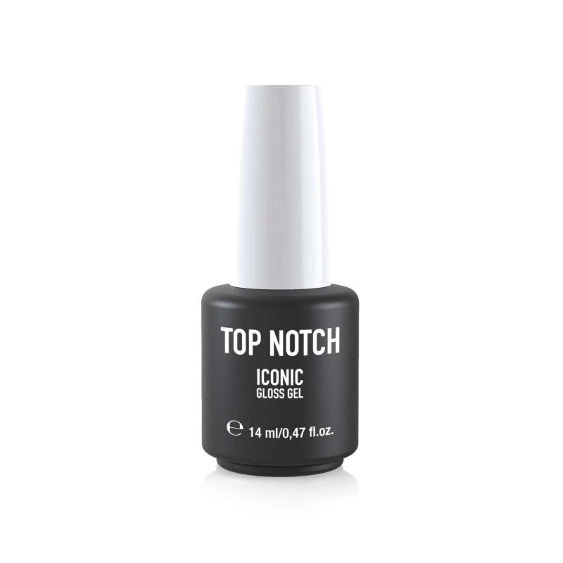 TOP NOTCH by Mesauda ICONIC GLOSS GEL Top Coat Per Smalto Semipermanente