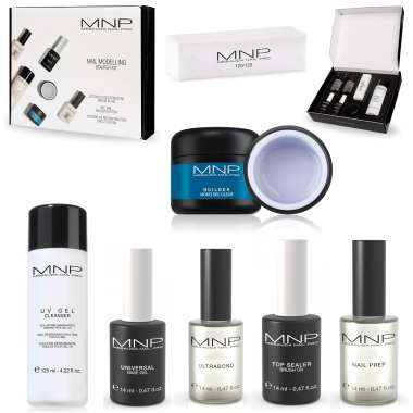 MNP NAIL MODELLING STARTER KIT Completo per Ricostruzione Unghie in Gel by Mesauda