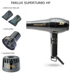 PARLUX SUPERTURBO HP 2400 WATT PHON PROFESSIONALE 2 BECCUCCI DIFFUSORE E SILENZIATORE