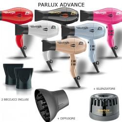 PARLUX ADVANCE LIGHT 2200 WATT PHON PROFESSIONALE 2 BECCUCCI DIFFUSORE E SILENZIATORE