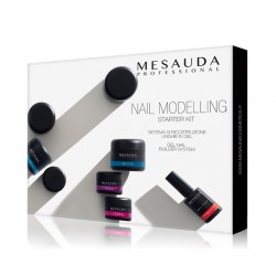 Mesauda Milano Nail Modelling Starter Kit per Ricostruzione Unghie in Gel