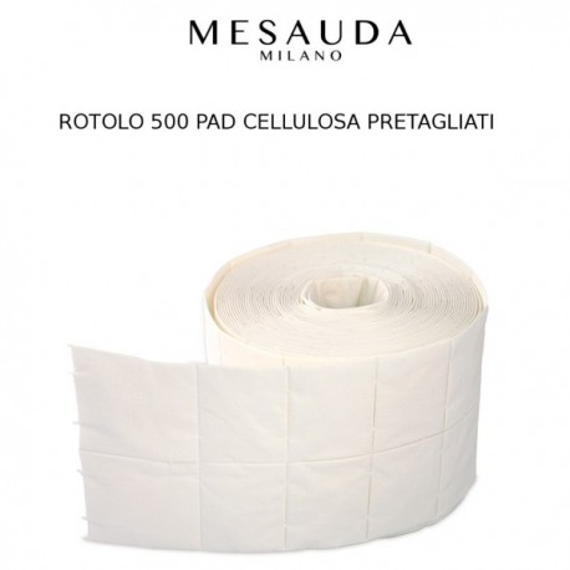 MESAUDA MILANO Pad di Cellulosa Rotlo 500 pz Unghia Nail Art