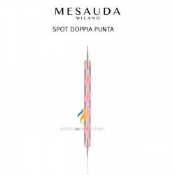 MESAUDA MILANO Spot Dotter Doppia Punta Rosa per Decorazione Unghia Nail Art