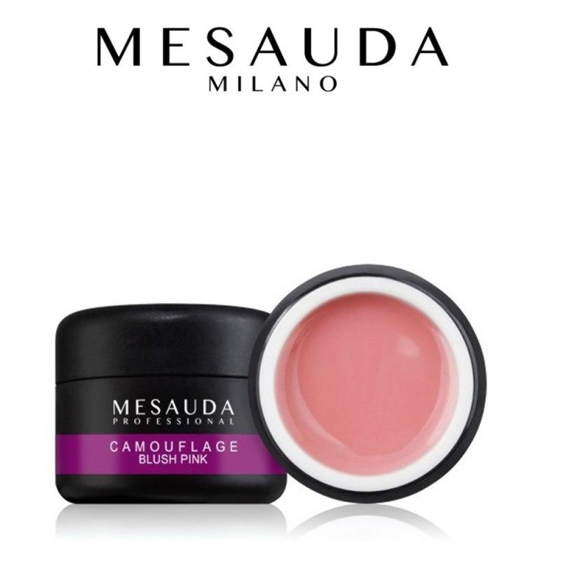 MESAUDA MILANO Camouflage Blush Pink Gel Coprente e Allungante