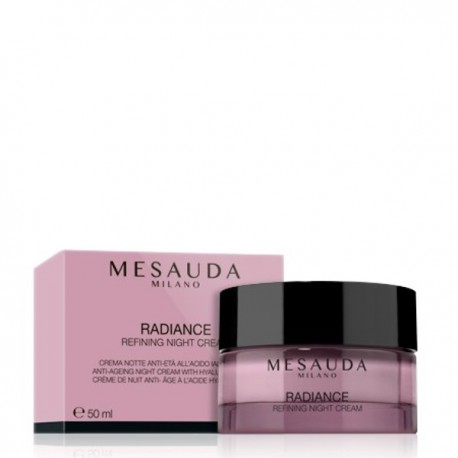 MESAUDA MILANO RADIANCE REFINING NIGHT CREAM Crema Notte Anti Età con Acido Ialuronico