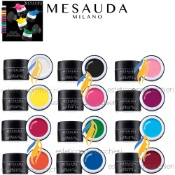 MESAUDA MILANO DELUXE COLOUR GEL Gel Nail Colour Gel UV Colorato Senza Dispersione 7ml
