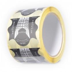MESAUDA MILANO 250 pz Cartine Adesive Ricostruzione Unghia Smalto Semipermanente Nail Art