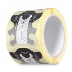 MESAUDA MILANO 250 pz Cartine Adesive Ricostruzione Stiletto Unghia Smalto Semipermanente Nail Art