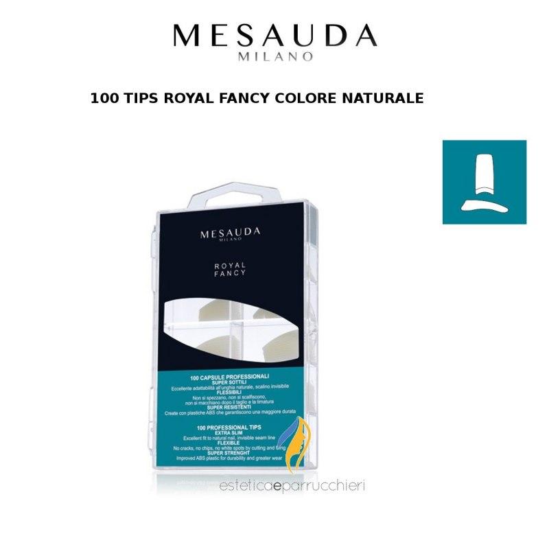 MESAUDA MILANO 100 TIPS ROYAL FANCY Colore Naturale