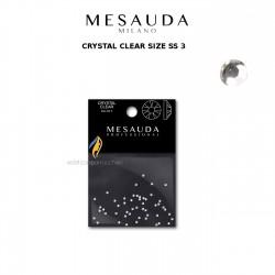 MESAUDA MILANO CRYSTAL CLEAR / AURORA Cristalli per Nail Art Unghie