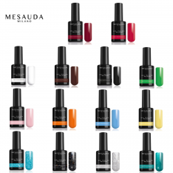 MESAUDA MILANO GEL POLISH NAIL COLOUR Smalto Gel Semipermante 5 ml