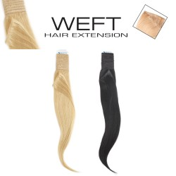 EURO SOCAP WEFT HAIR 50-55 CM Capelli Tessiti Lisci Colori Ombre
