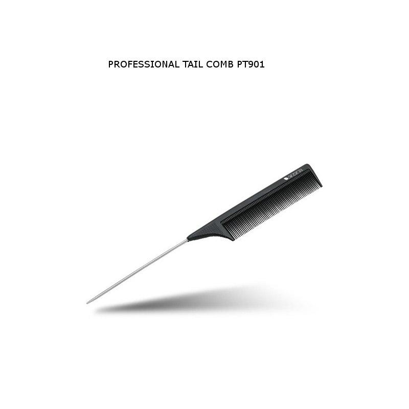 EURO SOCAP PROFESSIONAL TAIL COMB Pettine Professionale Ccon Coda