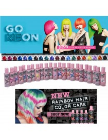 CRAZY COLOR e GO NEON Tinta Semipermanente in Crema per Capelli 100 ML by RENBOW
