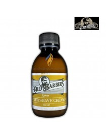 OLD BARBERS AFTER SHAVE CREAM Nutrient Dopo Barba Professionale 200 ml