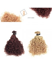 EURO SOCAP CURLY LINE Ciocche Ricce in Cheratina Hair Extension 50/55 CM