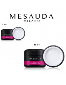 MESAUDA MILANO French Ultra White Gel UV e LED Extra Bianco per Tip