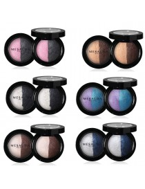 MESAUDA MILANO LUXURY DUO EYESHADOW Ombretto Cotto Professionale Wet&Dry