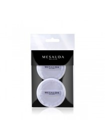 MESAUDA MILANO MAKE 2 Spugna Puff Cotone Rotonda Spugnetta Make Up Professionale
