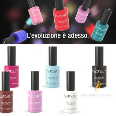 MESAUDA MILANO GEL POLISH NAIL COLOUR Smalto Gel Semipermante 10 ml