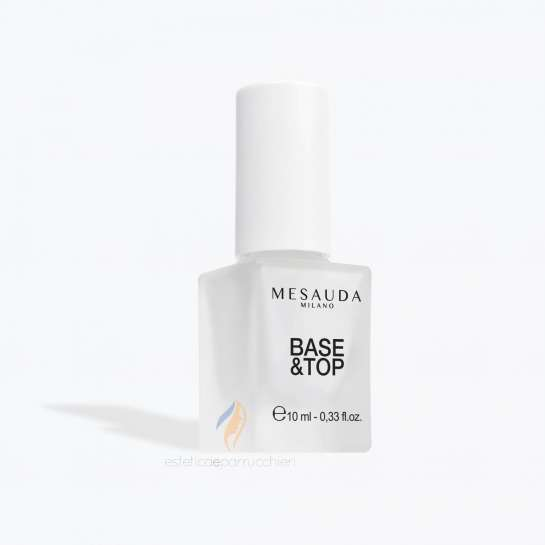 MESAUDA MILANO BASE E TOP Coat per Unghia Professionale 10ml