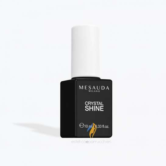 MESAUDA MILANO CRYSTAL SHINE Top Coat Smalto Effetto Vetro 10 ml