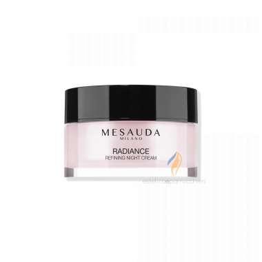 MESAUDA MILANO RADIANCE REFINING NIGHT CREAM Crema Notte Anti Età all' Acido Ialuronico 50ml