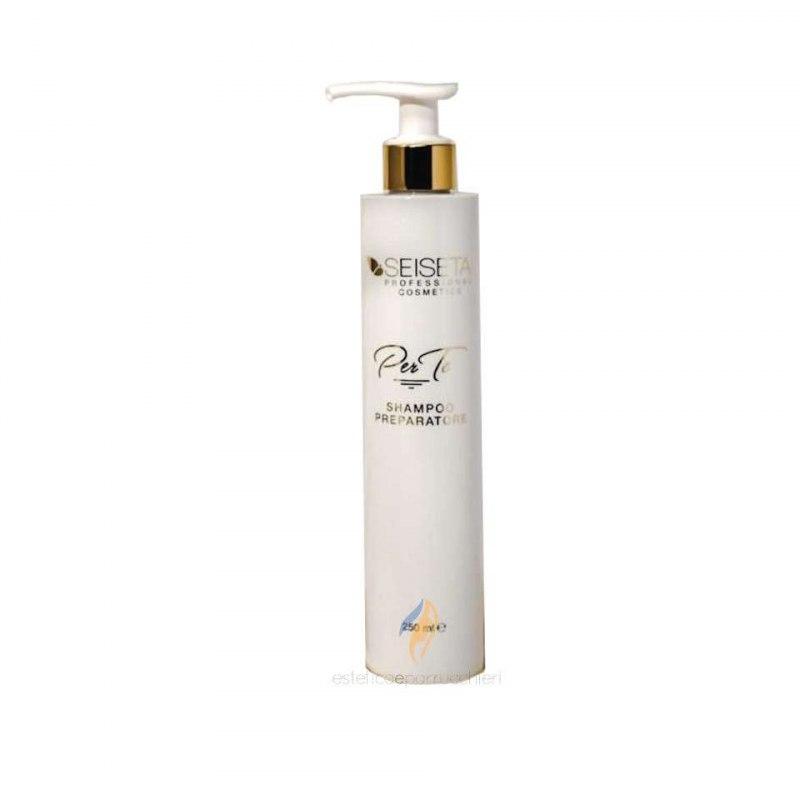 EUROSOCAP SEISETA Shampoo Preparatore con Pantenolo e Cheratina