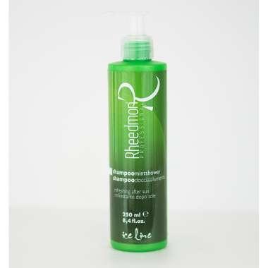 RHEEDMON ICE LINE Shampoo Doccia per Capelli e Corpo Professionale alla Menta rinfrescante 250 ML